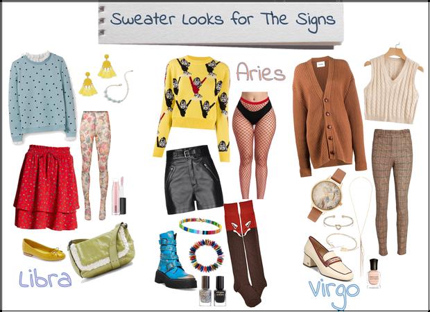 zodiac sweaters