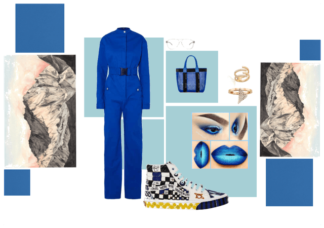 Blue$