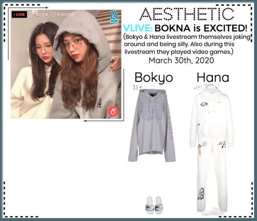 AESTHETIC (미적) [BOKYO & HANA] V-App Livestream