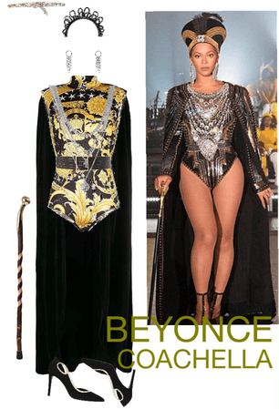 Beyoncé Beychella Coachella inspired Halloween costume