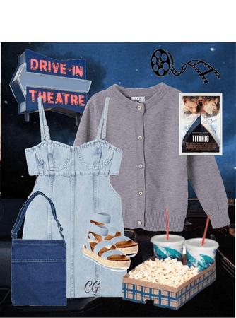 Drive-In Movie Date