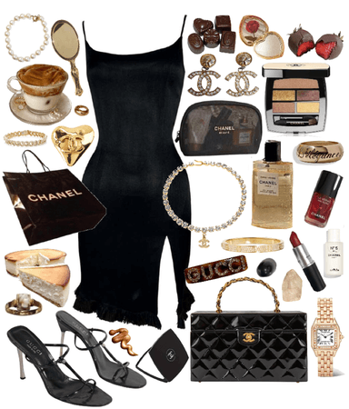 black and gold luxury