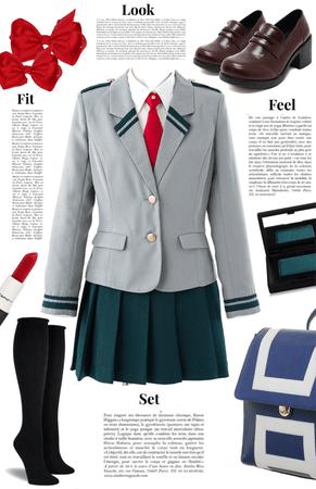 MHA UA High Uniform | PRIVATE SCHOOL UNIFORM CHALLENGE |