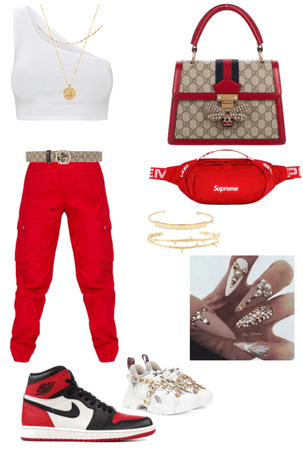 Gucci red vibe