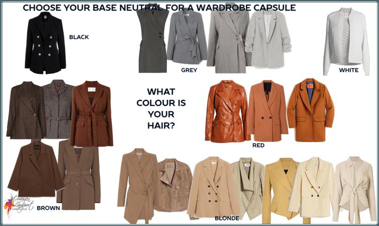 wardrobe capsule neutral base