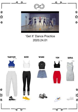 INFINITY (무한대) - 'Get It' - DANCE PRACTICE