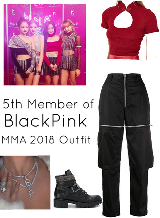 5th Member Of BlackPink MMA 2018 Outfit