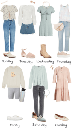 Week of Spring Fits
