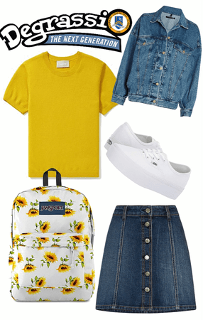 Degrassi Inspired Outfit