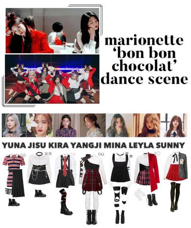 {MARIONETTE} 'Bon Bon Chocolat' M/V Dance Scene