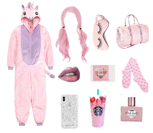Pink slumber party 🎊
