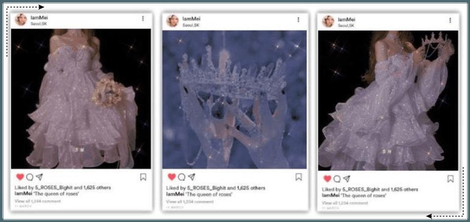 5ROSES 5 장미 MEI Instagram Update