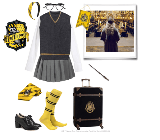 Inspired by the  Hufflepuff Houses