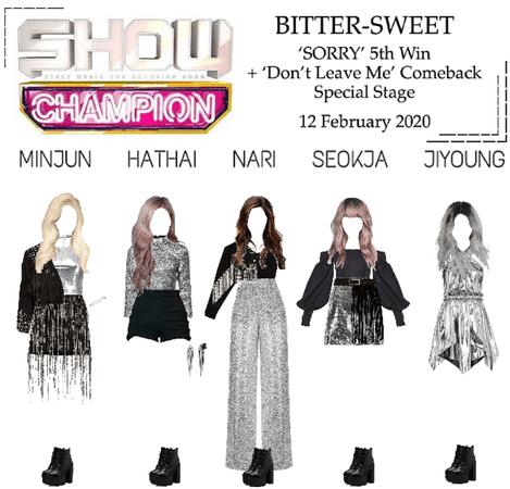 BITTER-SWEET [비터스윗] Show Champion 200212