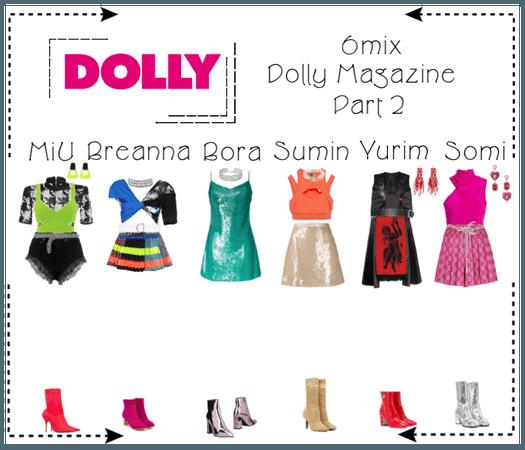《6mix》Dolly Magazine Photoshoot (Part 1)