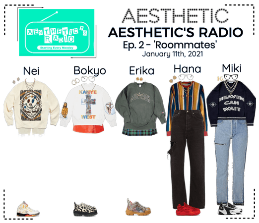 AESTHETIC (미적) [AESTHETIC'S RADIO] EP. 2