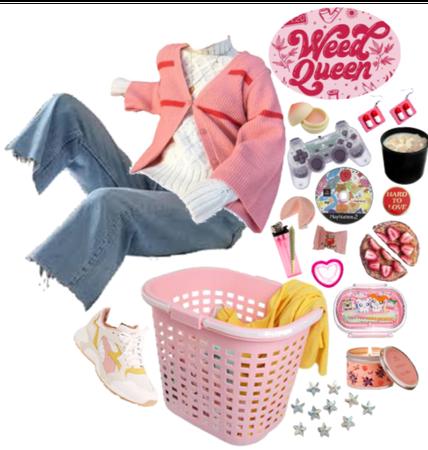 A Pink Mess