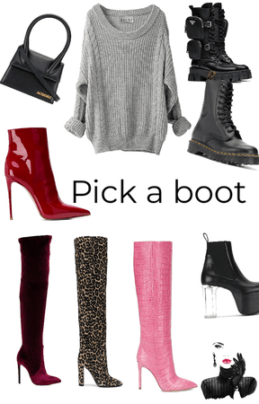 pick a boot
