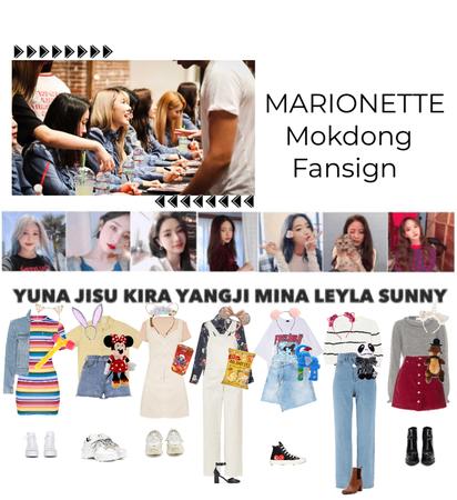 {MARIONETTE} Mokdong Fansign