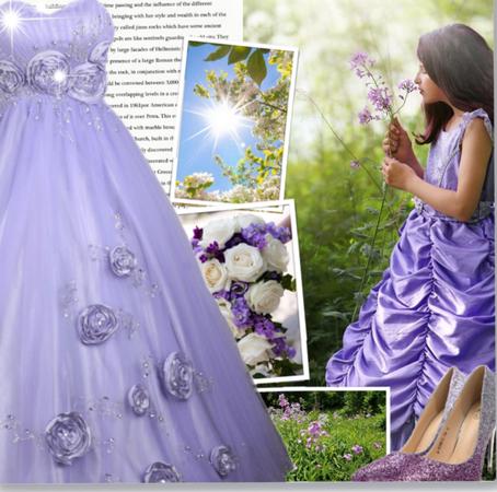 Purple Flowers And Magic