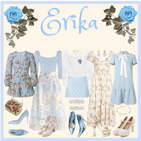 THE PRINCESS AND THE PAUPER: Erika