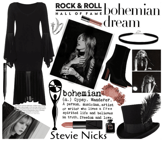 The Queen of Boho! Stevie Nicks