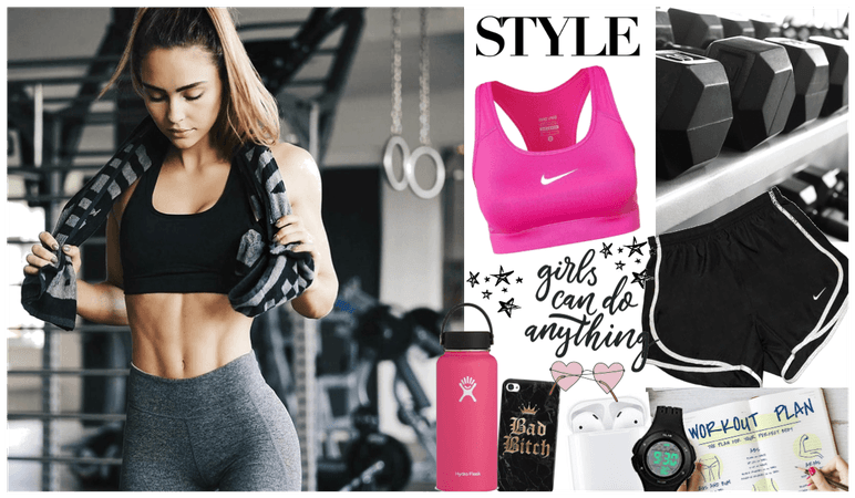 my style: personal trainer