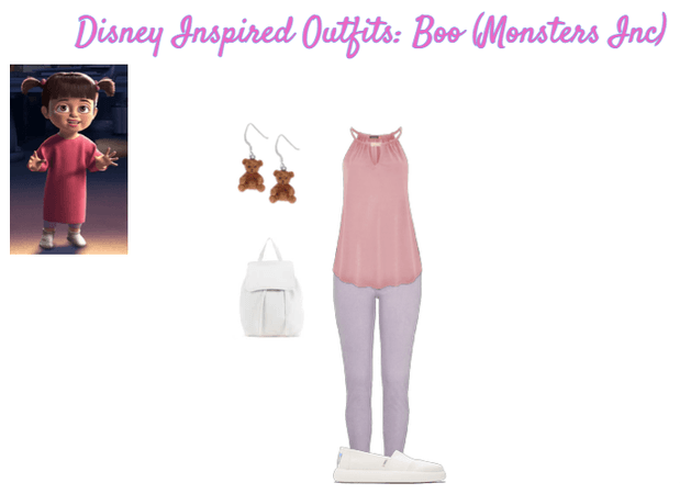 Disney Inspired Outfits: Boo