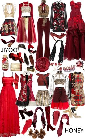 House of Gryffindor: Jiyoo & Honey