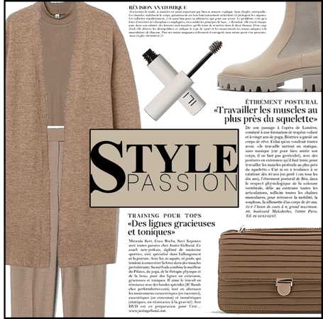 Fashion File: Shades Of Brown Winter Monochrome (Look 2) - Contest