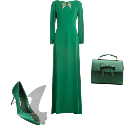 Green and jewels