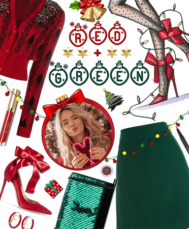 Red and Green Chic
