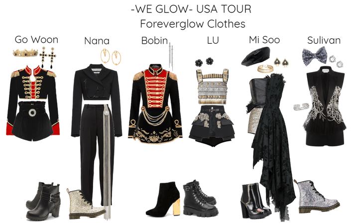 -WE GLOW-USA TOUR