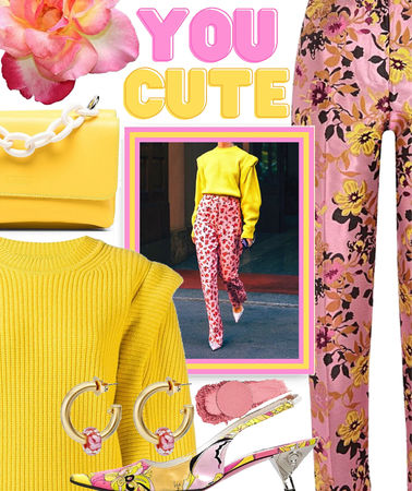 pink & yellow