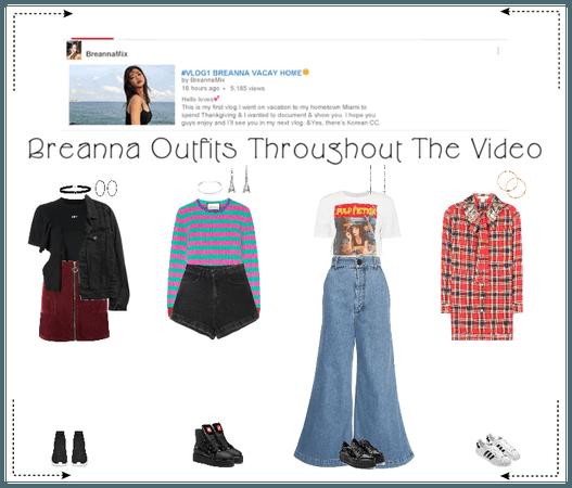《6mix》Breanna First Vlog Video