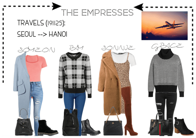 [THE EMPRESSES] TRAVELS: SEOUL TO HANOI, VIETNAM