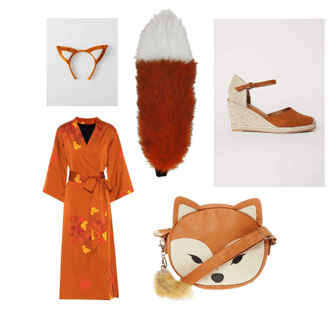 Kitsune Fox Spirit