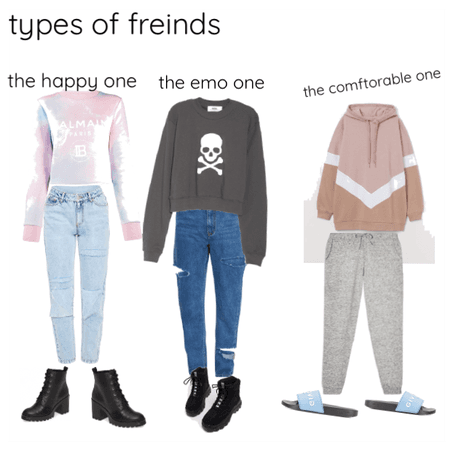Types of freinds