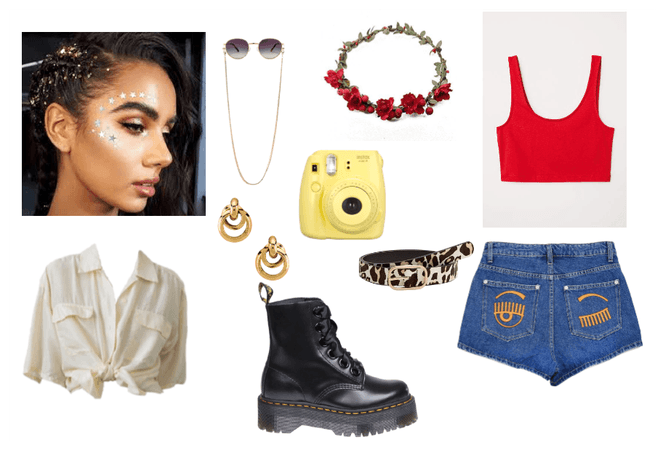 Festival look for Lucia