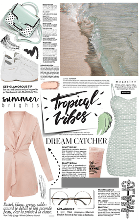 soft tropical vibes.