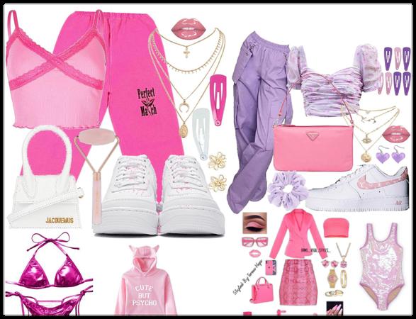 pink v purple i don't know