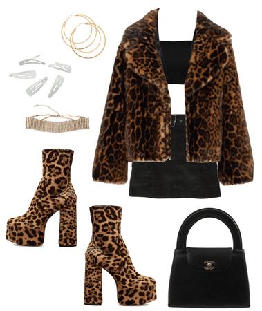 leopard fluff