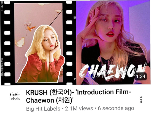 KRUSH Introduction Film- Chaewon