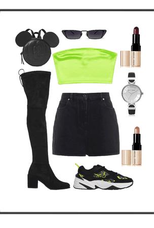 Clubbing in Green