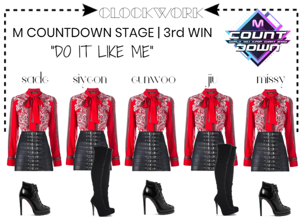 """*CWK* """" DO IT LIKE ME"""" M COUNTDOWN STAGE 