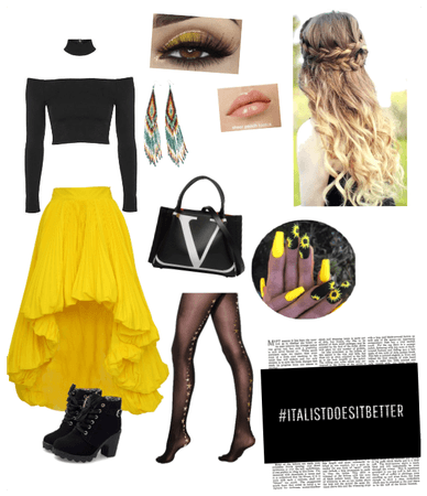 Yellow hippy