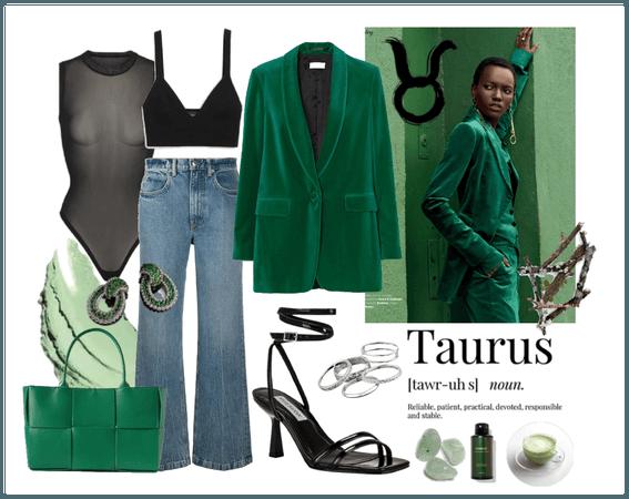 Taurus green look