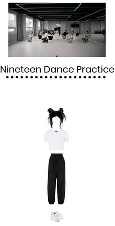 Bella Lee Nineteen Dance Practice