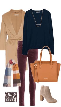Winter color pop