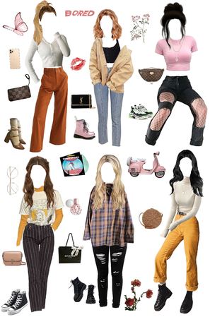 just some random outfits